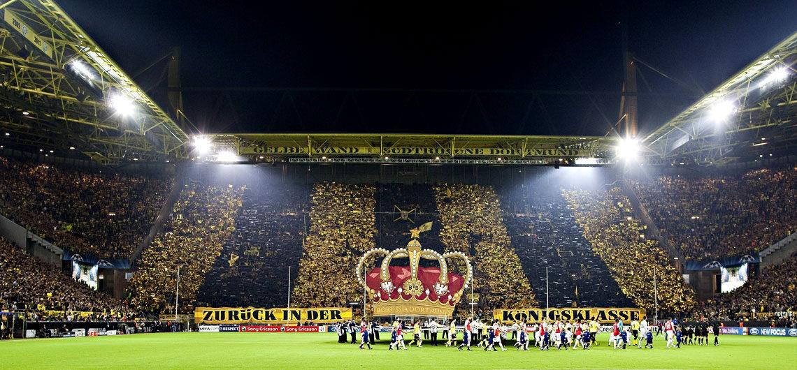 Borussia Dortmund Bundesliga fotbollsresor och biljetter