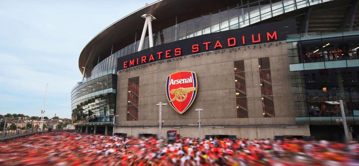 Fotbollsresor och biljetter till samtliga lag i London som Arsenal, Tottenham, Chelsea, West Ham m.fl.