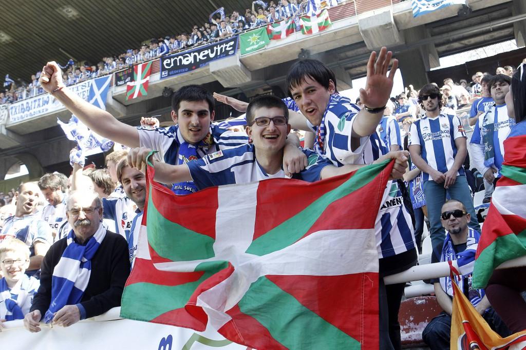 Real Sociedad supporters 130414