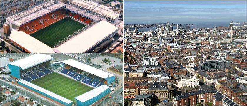Liverpool stadiums