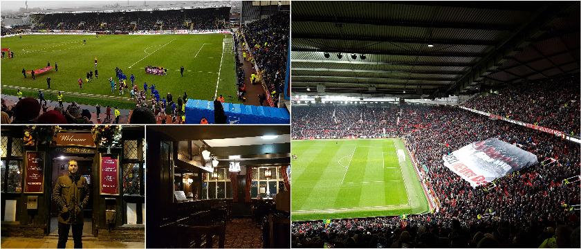 reserapport från Manchester & Burnley
