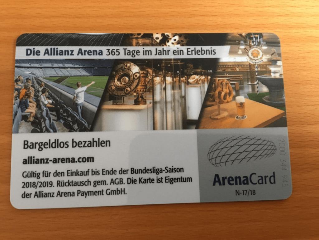 Allianz Arena kort
