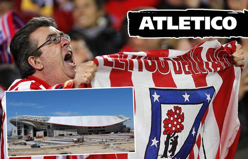 Atletico biljetter och fotbollsresor