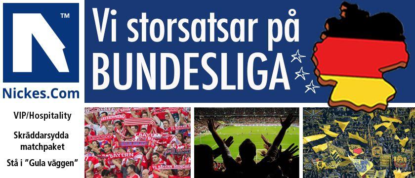 fotbollsresor till Bundesliga