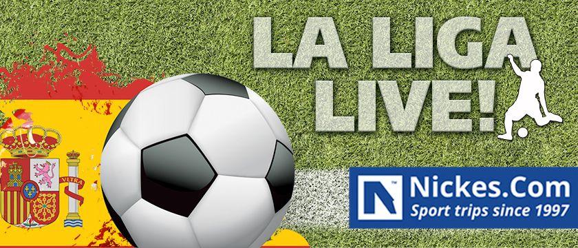 Boka fotbollsresor och biljetter till La Liga