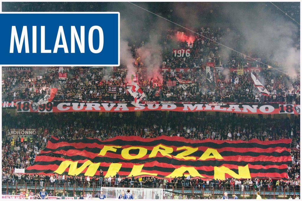 fotbollsresor till Milano