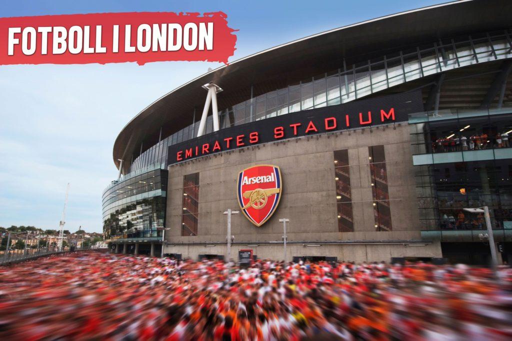boka sportlovsresor till London