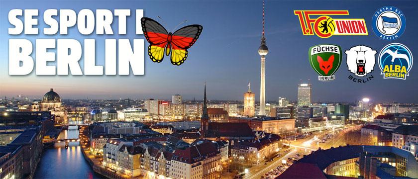 Boka fotbollsresor och sportresor till Hertha och Berlin