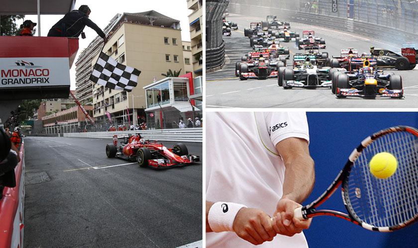 f1resor och tennisresor till Monaco