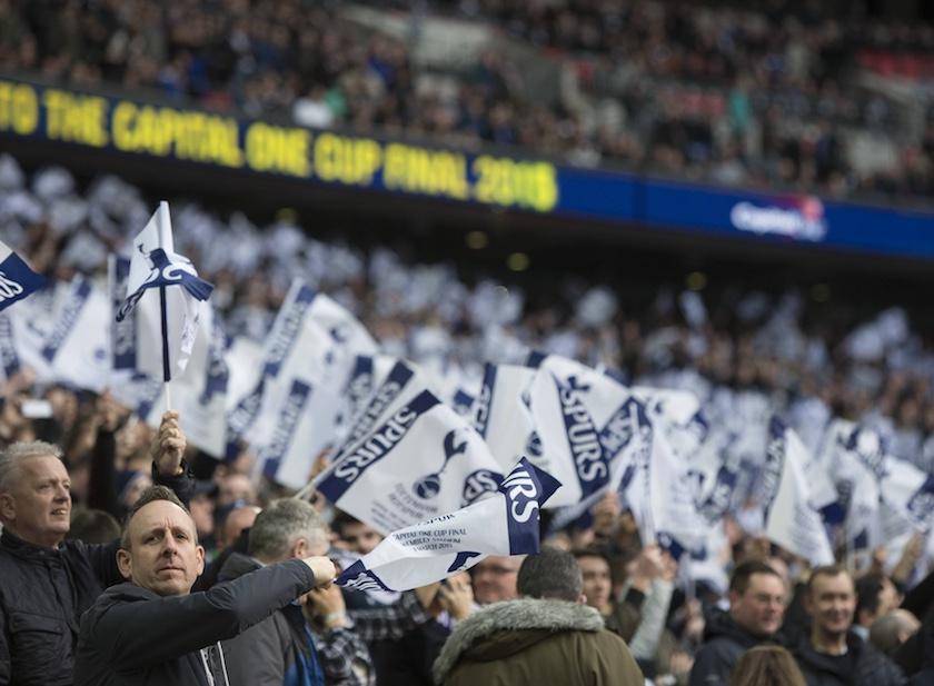 Tottenham Spurs fotbollsresa