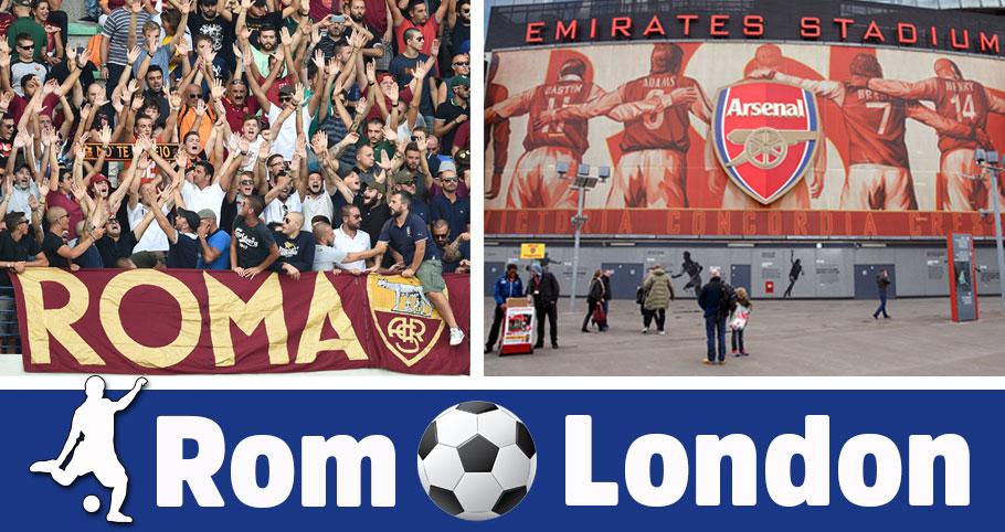 fotbollsresa till Rom och London