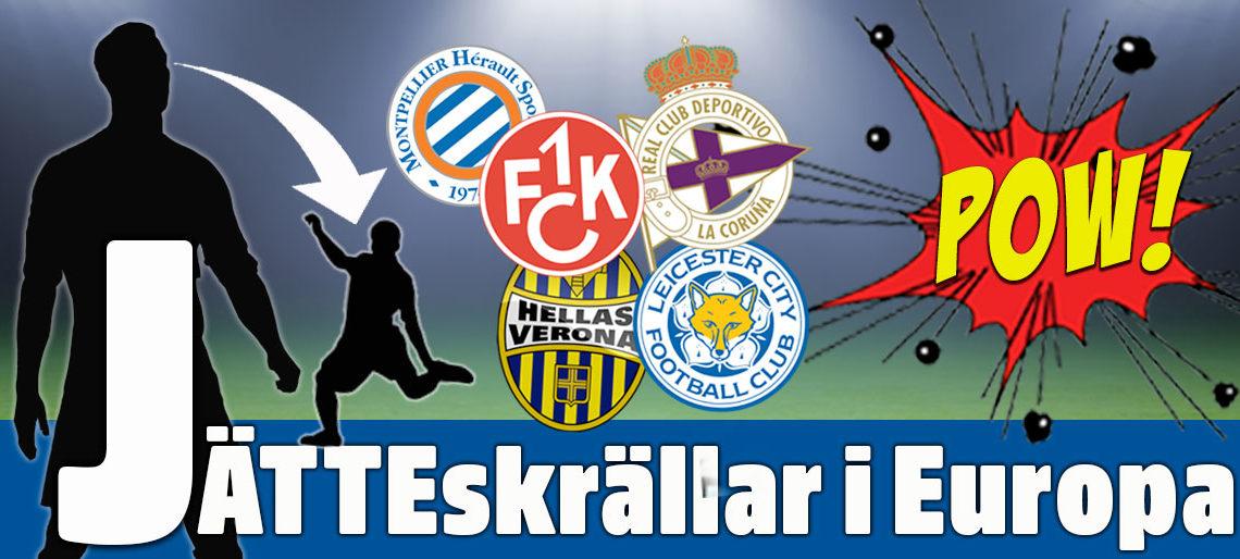 fotbollsresor till Europa
