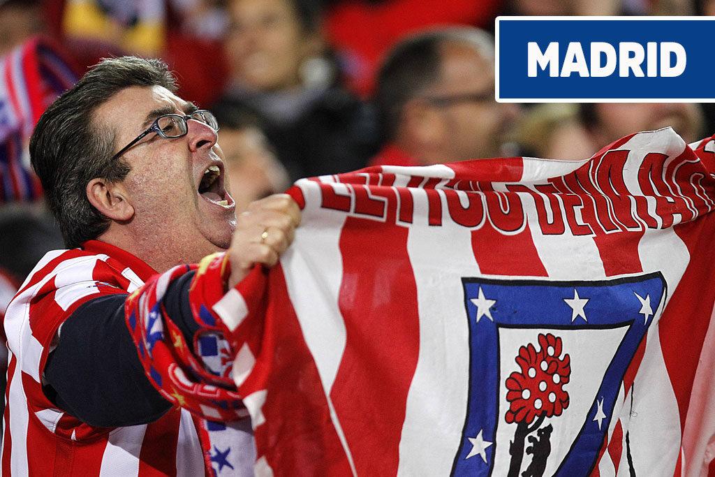 fotbollsresor till Madrid