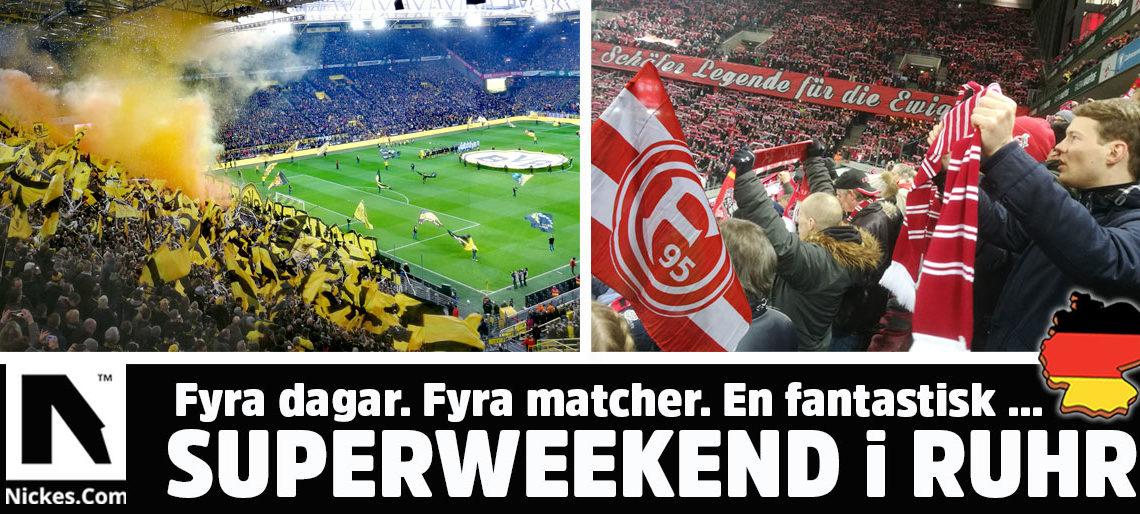 fotbollsresor till Ruhr och Bundesliga