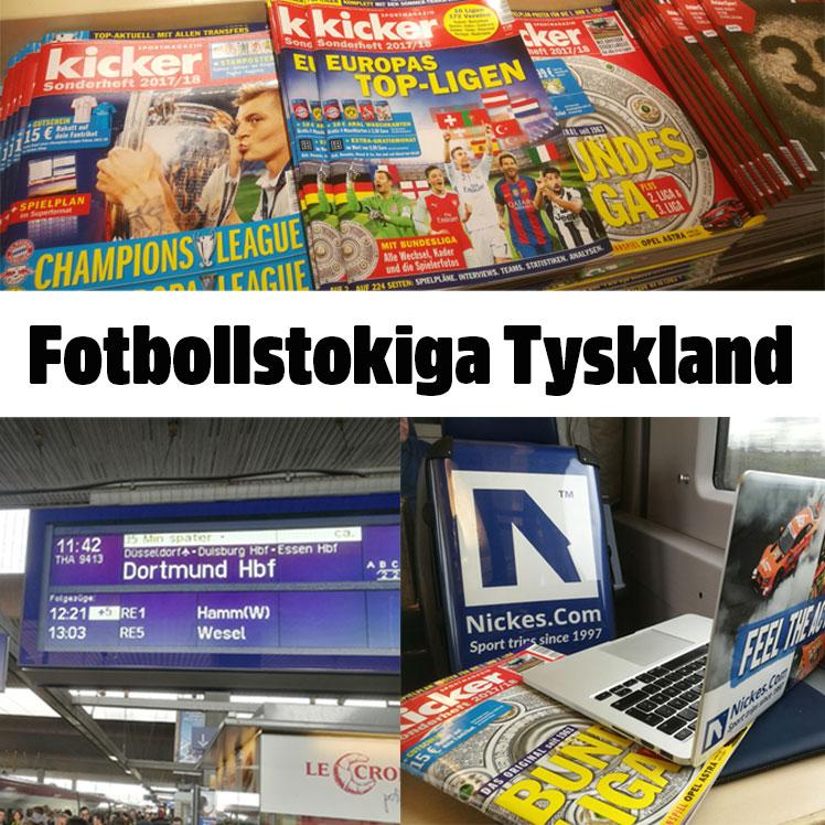 boka biljetter och fotbollsresor till Tyskland