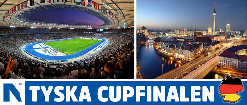 Boka biljetter till Tyska Cupfinalen 2018