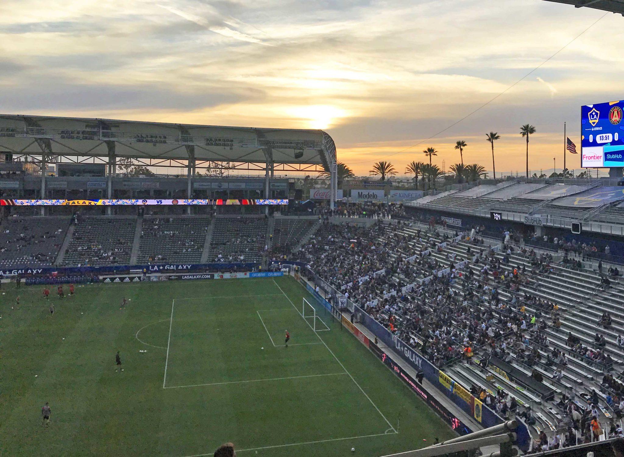 LA Galaxy arena