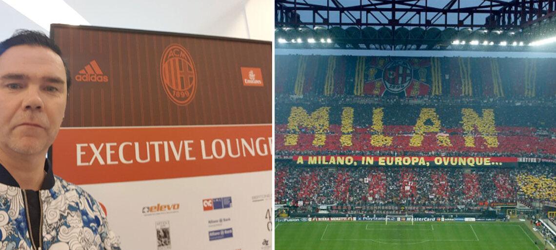en fotbollsresa till Milano